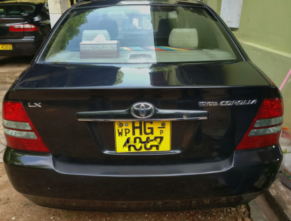 Corolla 121 for sale at colombo